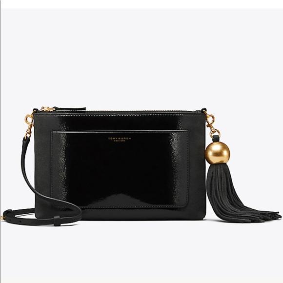 Tory Burch Bags   2018 Leather Tassel Crossbody   Poshmark b2325b571c